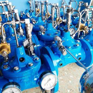 Válvulas de control hidráulico