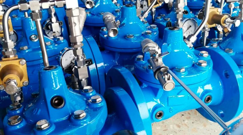 Válvulas y accesorios para control hidráulico