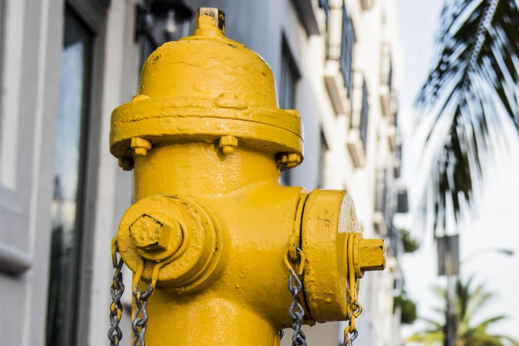 Hidrantes, para su seguridad y tranquilidad